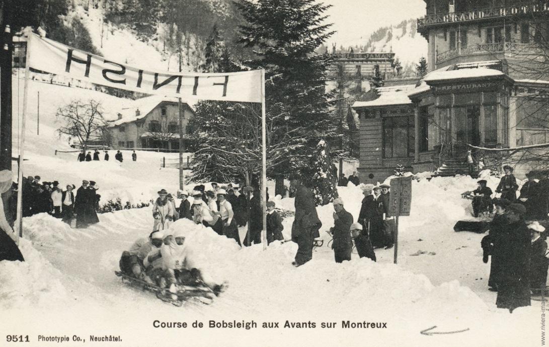 Course de Bobsleigh