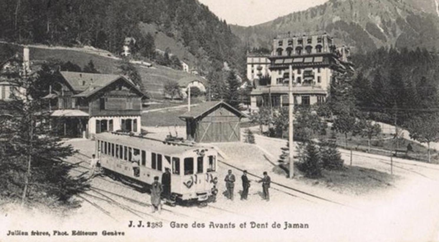 Gare des avants