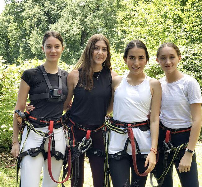 Girls in Park Adventure