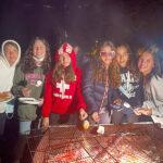 Bonfire at Le Chatelard
